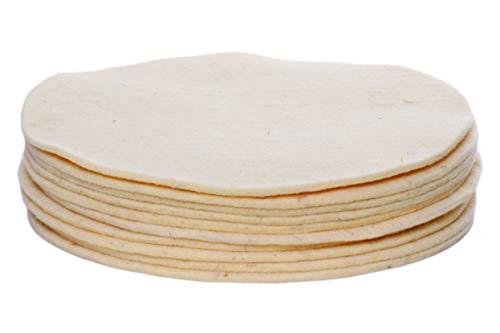 HPS® Sparset - 10-Stück- Wollpads -Schafschurwolle - Polierpad Ø30cm - Polierbad für geöltes, versiegeltes Parkett, Laminat, Marmor, Granit, PU-Epoxy Böden, Linoleum, und Vinyl. für Overmat Poliermaschine Floorboy XL 300 - Floorboy Pads