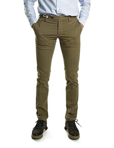 AT.P.CO - Pantaloni Chino Jack Slim Camel Beige 48