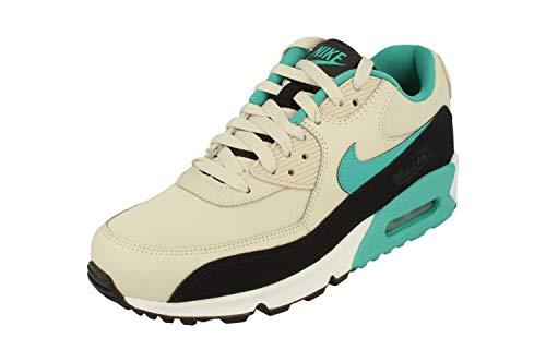 Nike Air Max 90 Essential, Chaussures de Gymnastique Homme, Beige (Light Bone Sport Turqblackwh 001), 45.5 EU