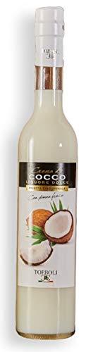 Torboli Kokoslikör | Crema Cocco | Coconut | Italienischer Likör |Cream |Likoer | Kokosnuss | Nuss Spirituosen