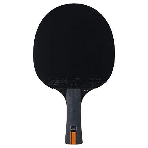 STIGA Vision Carbone 4 étoiles Raquette de Ping-Pong, Noir/Rouge