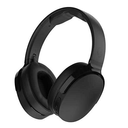 Skullcandy Hesh 3 Bluetooth Wireless Over-Ear Headphones with Microphone, Black (Renewed)