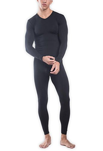 TANI USA Men's SilkCut Thermal Underwear Set