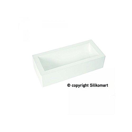 silikomart 27.259.87.7360 Moule à bûche, Blanc, 25 x 9 x 7 cm