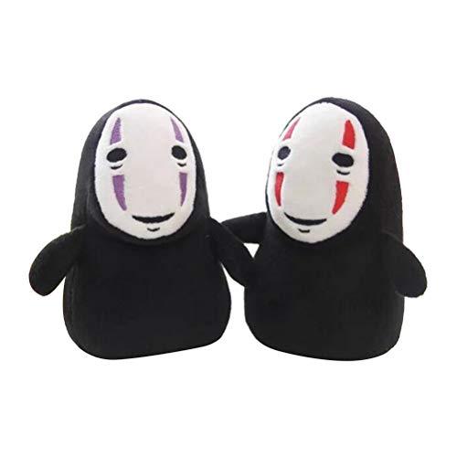"""JTLB 7"""" Chihiros Mann ohne Gesichts-Geist-Plüsch Sammler Anime-Charakter-Tasche Spielzeug Puppe Chihiros Plüschtier"""