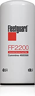 6/PACK FLEETGUARD FUEL FILTER FF2200