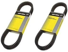 Ski-Doo New OEM Snowmobile Performance Drive Belt, 417300531-2 Pack