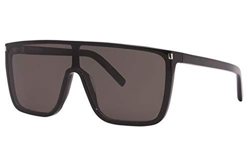 SAINT LAURENT Occhiali da Sole SL 364 MASK ACE Black/Grey 99/10/145 donna