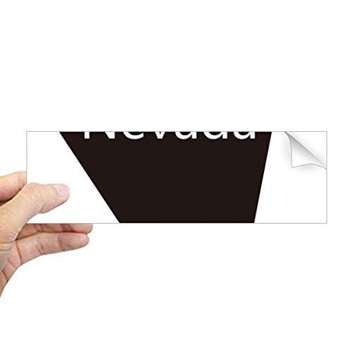 DIYthinker Nevada De Verenigde Staten van Amerika Kaart Rechthoek Bumper Sticker Notebook Window Decal