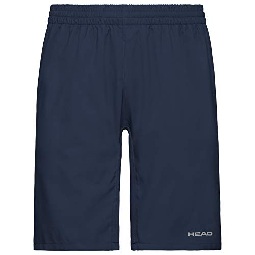 HEAD Jungen Shorts Club Bermudas B, Dark Blue, S, 816349-DB 140