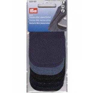 929481 - 4x2 Patches Mini Jeans/Cotton sort.8x6cm