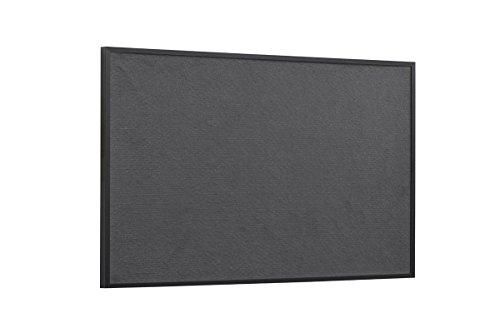 Bi-Office Pinnwand New Basic, Grauem Filz mit Schwarzem Holzrahmen, 585x385 mm