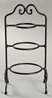 longaberger 3 tier wrought iron stand