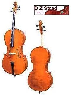 D Z Strad handmade Student Cello Model 101 w/Case, Bow and Rosin