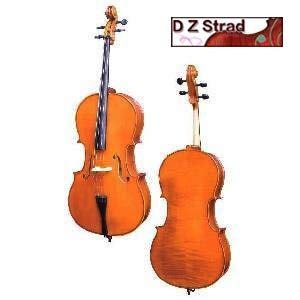 D Z Strad handmade Student Cello Model 101 w/Case, Bow and Rosin