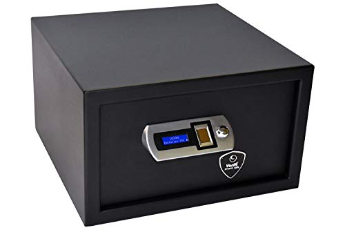 Verifi Smart.Safe. Biometric Gun Safe with FBI Certified Fingerprint Sensor, Self-Diagnostics, Tamper Alerts and AutoLock