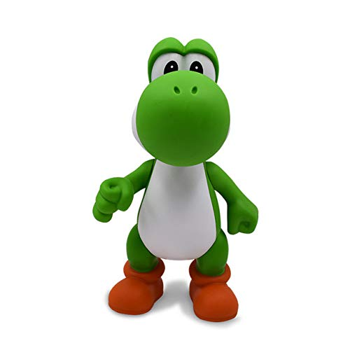 7 Stijlen 23 cm Mario Bros Figuur Yoshi Peach Princess Toad PVC Action Figure Hot Toys Voor Kinderen Mario Luigi Gratis Verzending, Yoshi geen doos