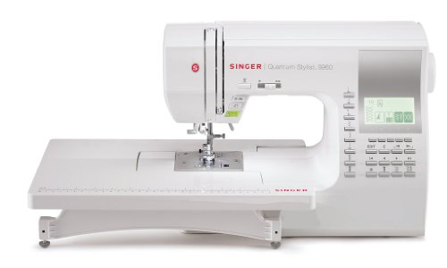 SINGER Factory Serviced 9960 Quantum Stylist Factory Serviced 600-Stitch Computerized Sewing Machine