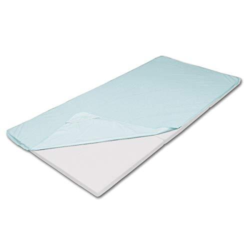 防水シーツ 敷きパッド シングル スカイブルー おねしょシーツ 介護シーツ 防水パッド おねしょ対策 防水