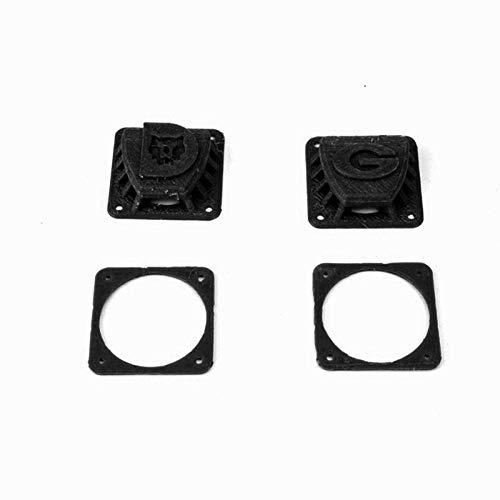 LijDD Utilidades Cubierta Protectora Protectora del Ventilador Anti-Niebla de PLA Impreso 3D para Gafas Gafas de fatshark Piezas de Herramientas