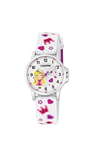 Calypso Watches Reloj Analógico para Unisex Niños de Cuarzo con Correa en Plástico K5776/1