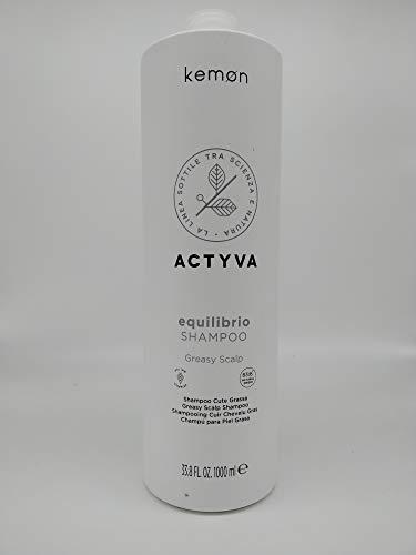 Kemon Actyva Equilibrio Shampoo Greasy Scalp 1000 ml