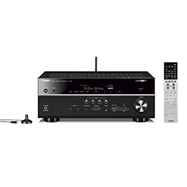 Yamaha RX-V681BL 7.2-Channel MusicCast AV Receiver with Bluetooth, Works with Alexa