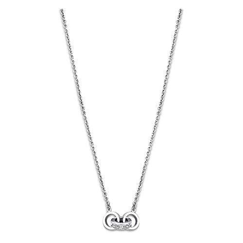 Lotus Style JLS1981-1-1 - Collar de acero inoxidable para mujer