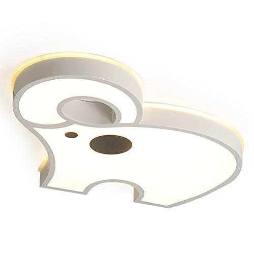 Luz De Techo LED Empotrada Atenuación Lámpara Techo Diseño Simplicidad Dibujos Animados Moderno Accesorio Iluminación Pantalla Acrílico Habitación Los Niños-Cambio de luz de tres colores 62*55cm