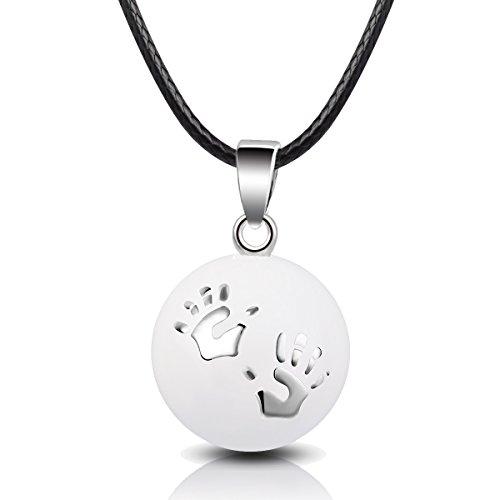 EUDORA Harmony Ball Bébé pendentifs Main Collier Bijoux de maternité Bijoux Musicale Meilleure Balade