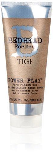 Tigi Bed Head For Men Power Play 6.8oz (200ml) Firm Finish Gel by TIGI