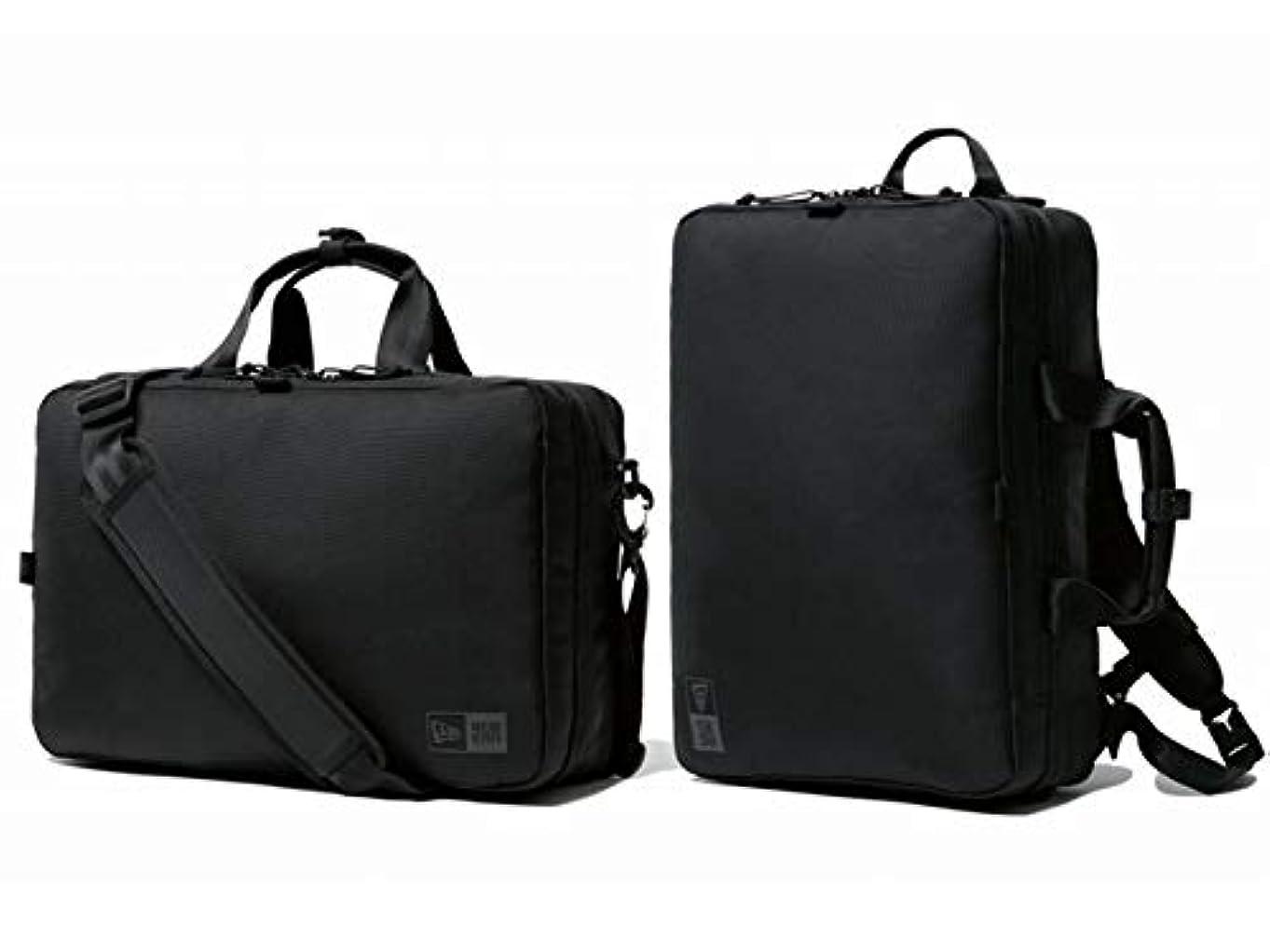七時半ブリークゆるく[ニューエラ] 【ビジネスコレクション】スリーウェイ ブリーフバッグ 11901527 ブラック Three Way Brief bag black リュックサック
