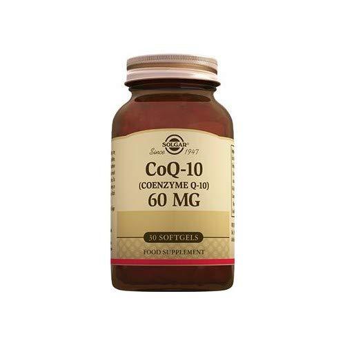 Solgar Coenzima Q10 60Mg. En Aceite 30Cap.Blandas 200 ml
