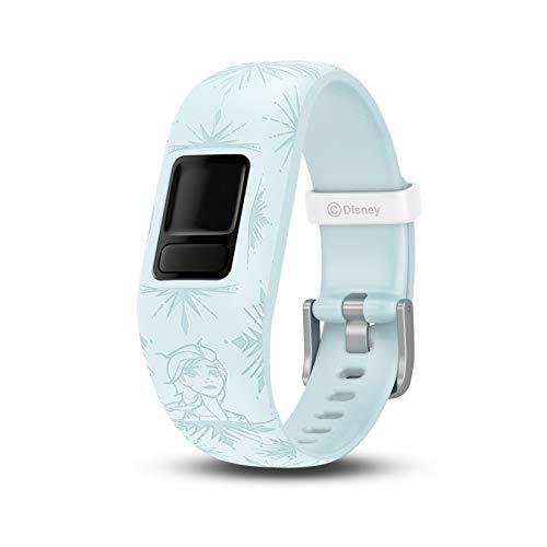 Garmin Vivofit Jr. 2 Disney Frozen 2 Elsa - Banda para Accesorios, Color Azul pálido