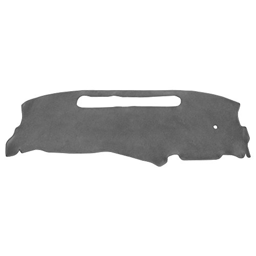 Hex Autoparts Dash Cover Mat Dashboard Pad for 1998-2004 Chevy S10 Pick Up (Gray)