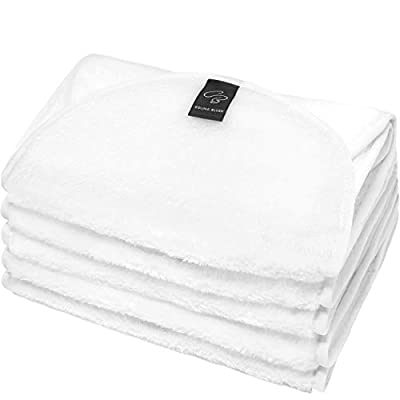 Set of 5 Facial Compresses | Reusable and Hypoallergenic | 54 x 25 cm Professional Compresses | Cloth for Beauty Facial Treatments | Cosmetic wipes | Compress tissues | Spa Wrap Towel