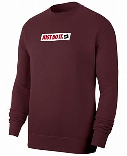 Nike Herren Sportswear Sweatshirt, Braun (Night Maroon), XL
