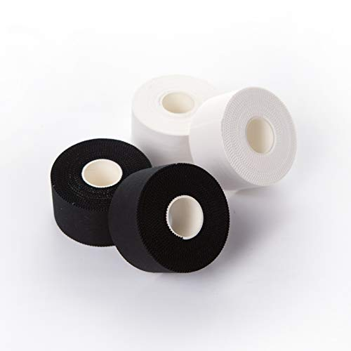 Hospora Athletic Tape 4 Rolls 15 Inch x 45 feet FDA Registered Super Sticky Glue and No Skin Residue Finger Joint Injury Sprain Swelling Sports Tape First Aid Adhesive Tape