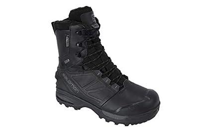 Salomon Unisex Toundra Forces CSWP Boots, Black/Black/Wolf, 10