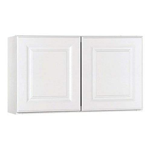 Rsi Home Products Sales CBKW3018-SW 30' W X 18' H X 12' D White Finish Assembled Wall Cabinet
