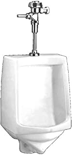 American Standard 6561.017.020 Trimbrook 0.85-to-1.0-Gallon Per Flush Urinal with Siphon Jet Flush Action, White