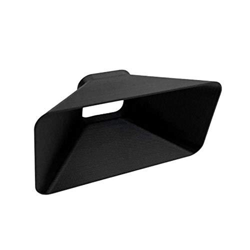 Yushu Para Go Pro para Hero 9 Negro Cubierta Protectora Sombrilla Tapa de la Cámara Lente de Sol Bloquea el Exceso de la Luz del Sol para Fotografía y Video Mejorados