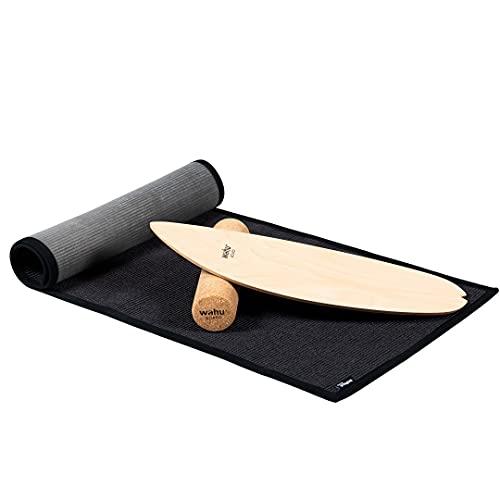 WAHU Board Matte - aus Sisal (165x60 cm) rutschfeste Matte - fair produziert - vermeidet Kratzer beim Boarden - 100prozent natürlich  