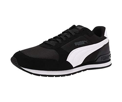 Puma Unisex-Erwachsene ST Runner v2 Mesh Sneaker, Schwarz Black White, 48.5 EU
