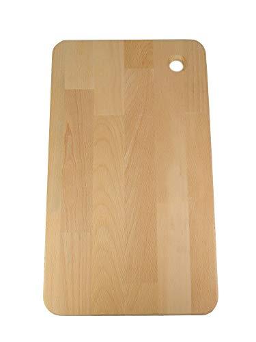 Tabla Para Cortar Cocina/ Tabla de Cortar Madera Reforzada/ Tabla de Cortar, Preparar, Trocear, Picar(45cm x 27cm)