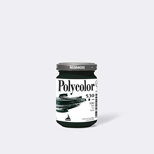 maimeri 1220530 maimeri 1220530 schwarz polycolor 125 ml 530