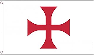 AZ FLAG Bandera del Orden del Temple 150x90cm - Bandera Ejercito DE Francia 90 x 150 cm