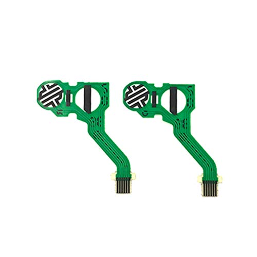 YUYAN JCD für PS5 Controller Original leitfähige Folie Keypad Flexkabel für PS5 Tasten Flachband-Platine Ersatz