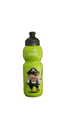 Kinder Kunststoff Trinkflasche Pirat, 330 ml, auslaufsicher, schadstofffrei, spülmaschinenfest