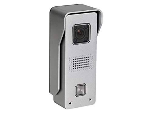 Velleman SCAMSET8 Videoportero con WiFi y Grabación de Vídeo, 12 V, Gris